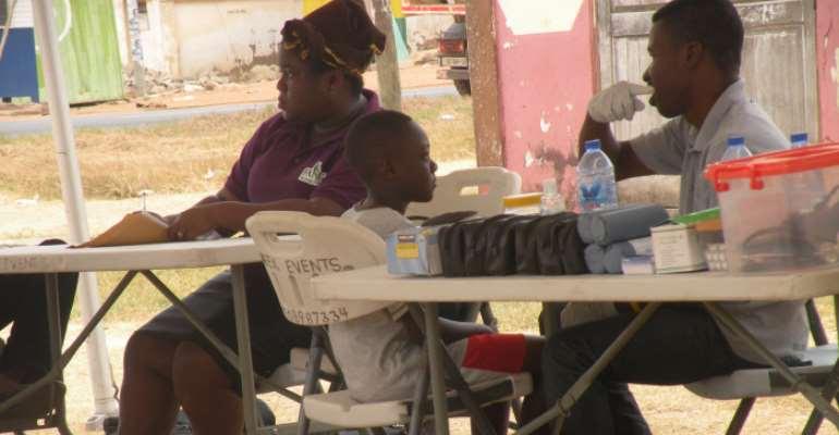 Hundreds Of Children Screened In Tema Through The Kalyppo Kares Program