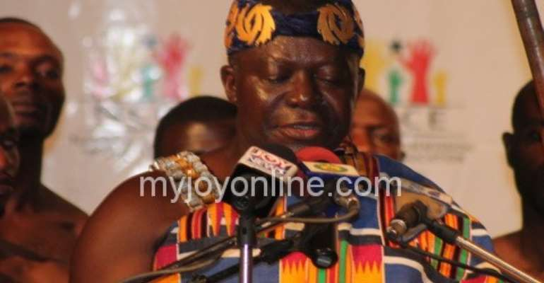 Bring development to your communities - Asantehene urges chiefs