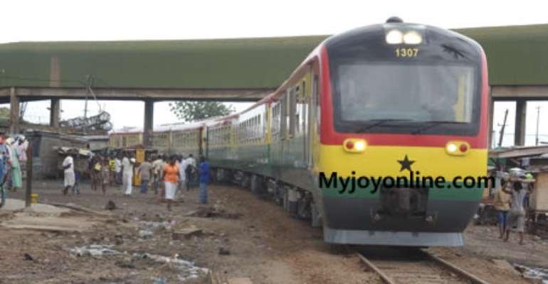 Mike Hammah, Prof Akumfi haggle over credit for rail tracks