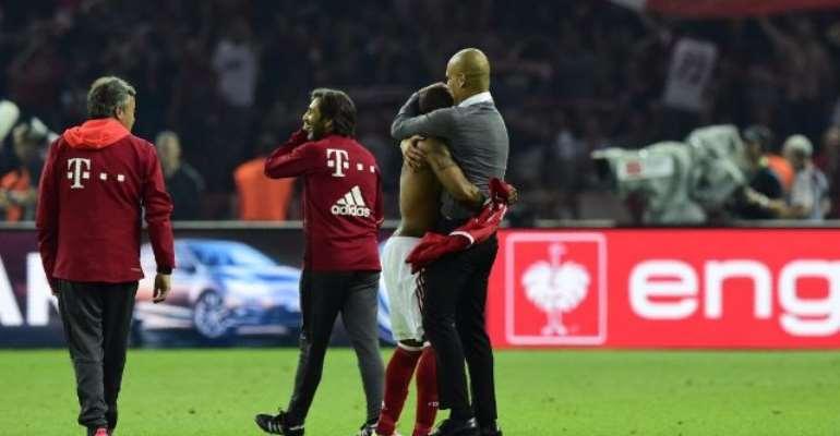 Pep Guardiola era ends with shoot-out drama as Bayern beat Dortmund