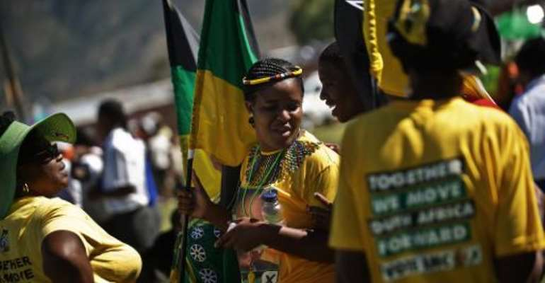 20 years on, Mandela's party faces tough test in South Africa