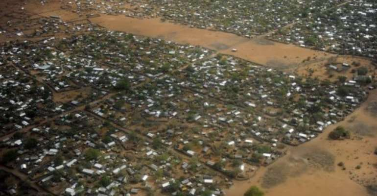 A general view of the Dadaab Refugee camp.  By Tony Karumba (AFP/File)