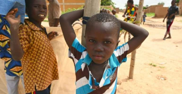 A few of the 860,000 people displaced internally in Burkina Faso due to jihadist attacks.  By ISSOUF SANOGO (AFP/File)