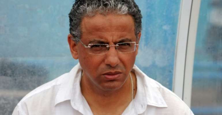 A file photo of Algerian Adel Amrouche, who has been named coach of Botswana.  By - (AFP)