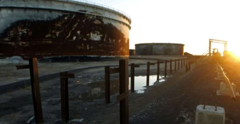A first ship was due to start loading crude from the oil port Al-Sidra in the east of the country, Libya's National Oil Corporation said.  By Abdullah DOMA (AFP/File)