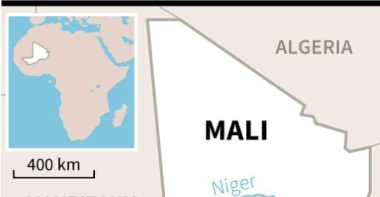 A passenger bus collided with a lorry carrying agricultural produce in the central Mali town of Segou.  By  (AFP/File)