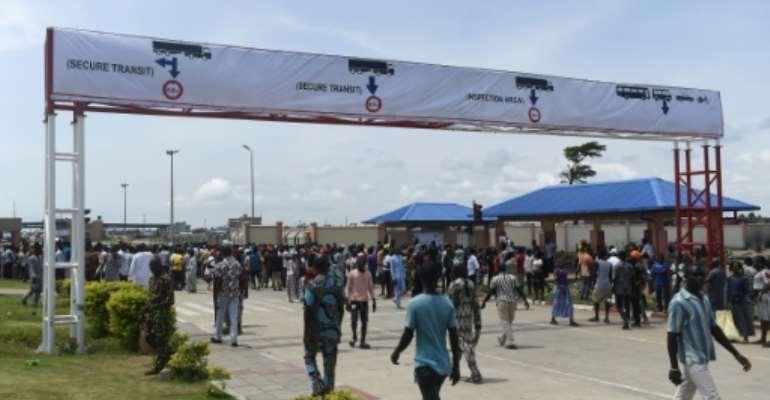 A spokesman for Nigeria's customs service said there was