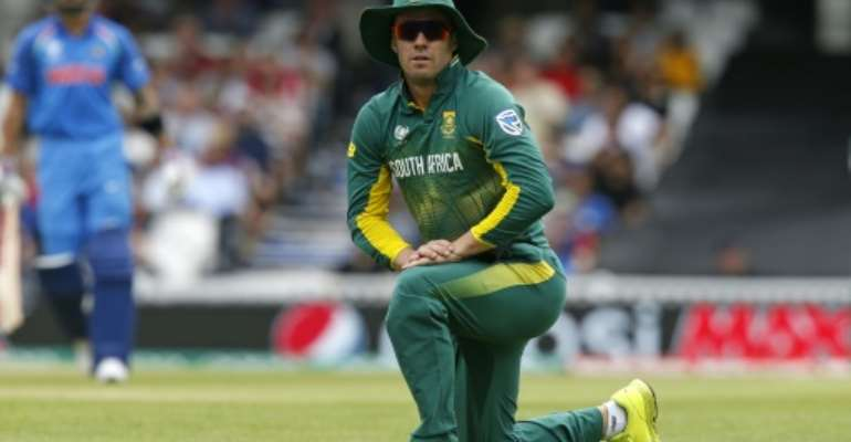 AB de Villiers will captain South Africa in their three-match Twenty20 series against England.  By Ian KINGTON (AFP/File)