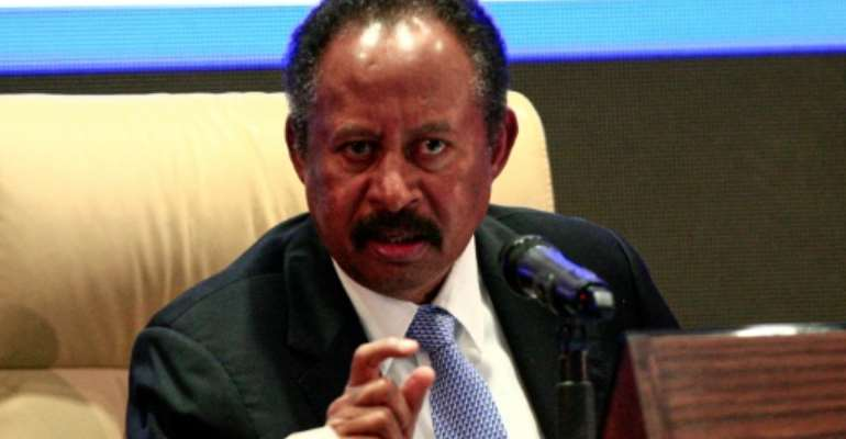 Abdalla Hamdok task is to lead Sudan's post-Bashir transition.  By Ebrahim HAMID (AFP)
