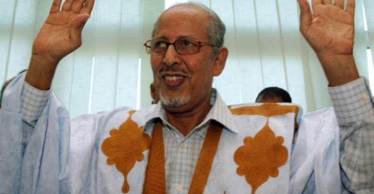 Abdallahi became the first democratically elected head of state in Mauritania in April 2007.  By Georges GOBET (AFP/File)