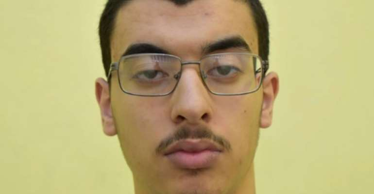Abedi was in Libya when the attack took place but helped his brother plan it.  By - (GREATER MANCHESTER POLICE/AFP/File)