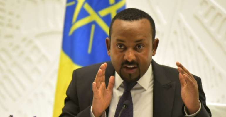 Abiy has been Ethiopia's prime minister since April 2018.  By MICHAEL TEWELDE (AFP/File)