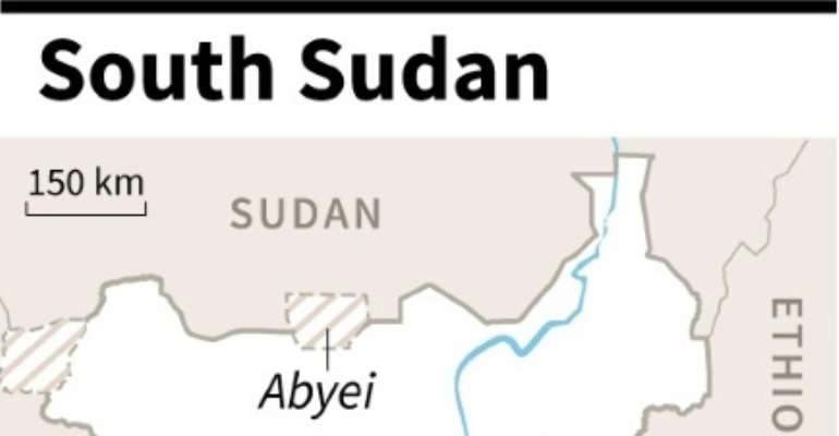 Abyei has been contested since South Sudan gained independence in 2011.  By  (AFP)