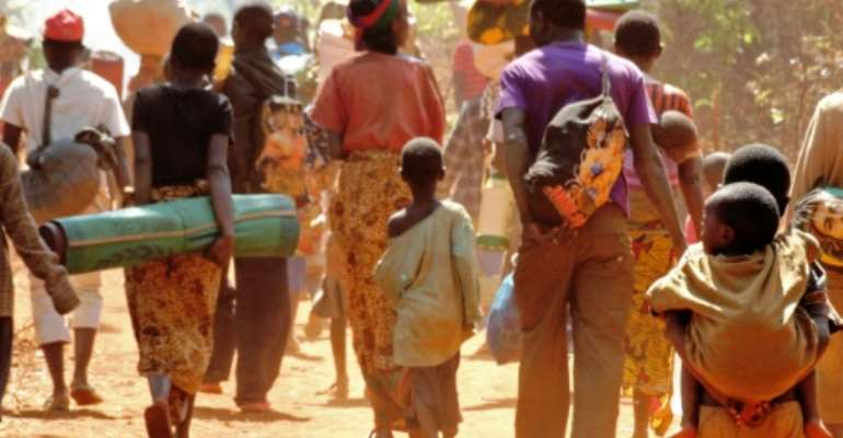 According to Tanzanian government figures, around 200,000 Burundians have fled to Tanzania. Many arrived after a political crisis erupted in Burundi in 2015.  By MARY MNDEME (OXFAM/AFP/File)
