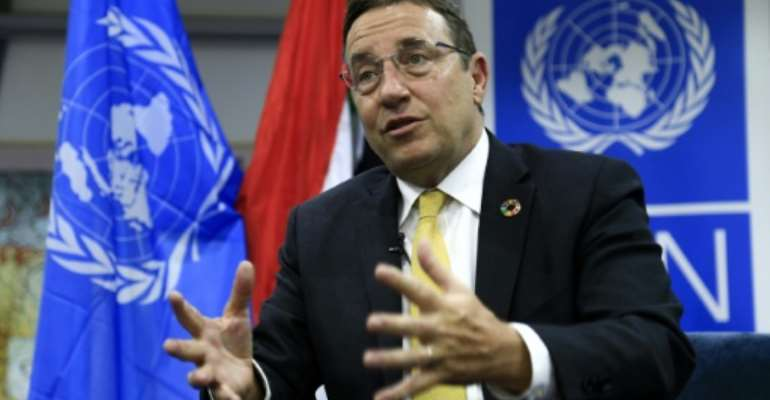Achim Steiner said the UNDP is committed to increasing its engagement in Sudan in an interview with AFP.  By ASHRAF SHAZLY (AFP)
