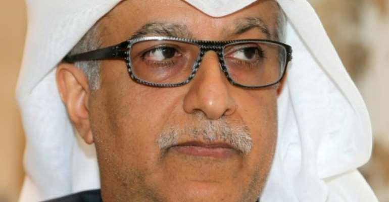 Sheikh Salman bin Ebrahim al-Khalifa is the president of the Asian Football Confederation (AFC).  By  (AFP)