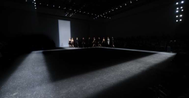 Milan Fashion Week, taking place since 1958, is part of the global 'Big Four' fashion weeks.  By Giuseppe Cacace (AFP/File)