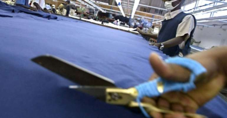 African textile sales to the US don't cut it compared to commodities exports.  By TONY KARUMBA (AFP)