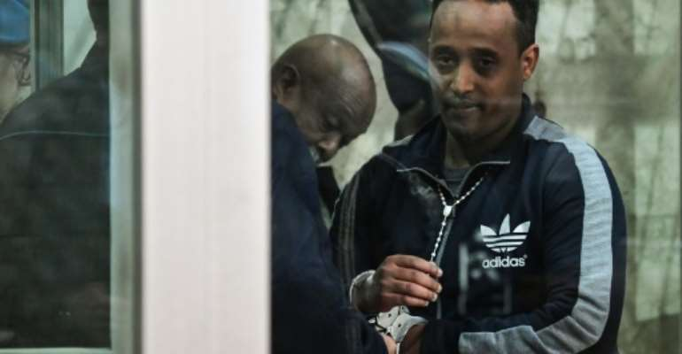 After a three-year 'nightmare', Berhe is free.  By Andreas SOLARO (AFP/File)