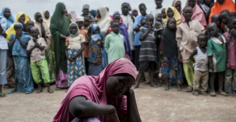 Aid workers helping in Nigeria's humanitarian crisis have increasing become a target for jihadists.  By Stefan HEUNIS (AFP)
