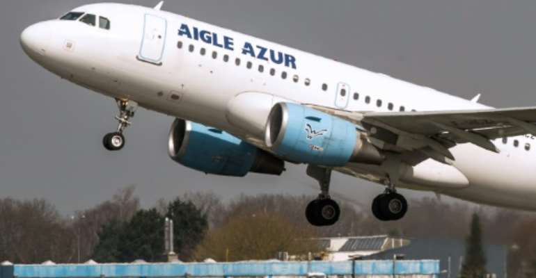 Aigle Azur, which was placed in receivership on Monday, will stop flying on Friday night.  By Philippe HUGUEN (AFP/File)