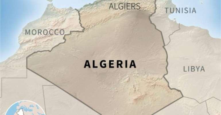 Algeria.  By Vincent LEFAI (AFP)