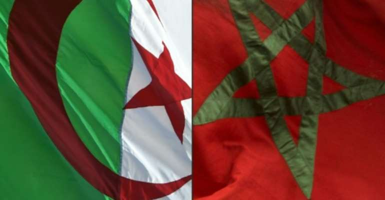 Algeria and Morocco have seen tensions soar in recent months.  By RYAD KRAMDI                        , FADEL SENNA (AFP/File)