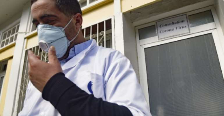 Algeria has reported nearly 18,000 cases of COVID-19, including about 1,000 deaths.  By RYAD KRAMDI (AFP/File)