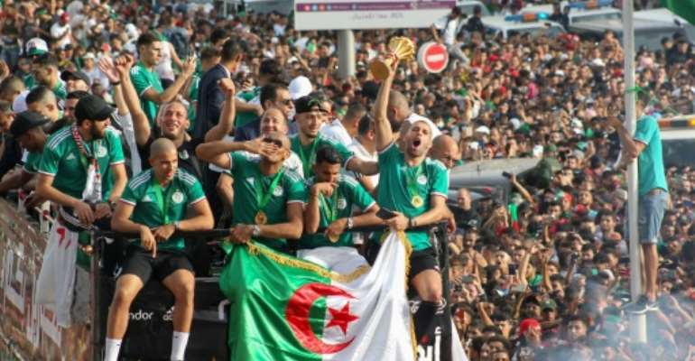 Algeria won last year's Africa Cup of Nations.  By - (AFP/File)