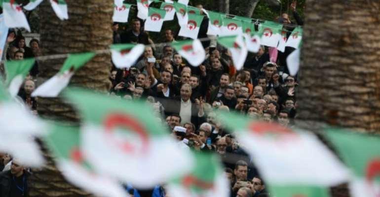 Algerian authorities use the term