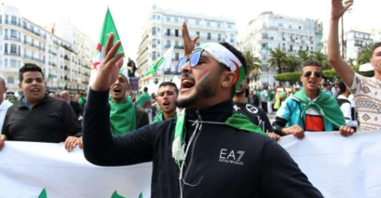 Algerian protesters say they are determined to keep up the pressure for reforms and proscutions of corrupt officials.  By - (AFP)