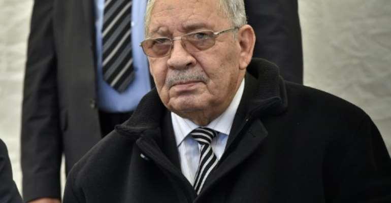 Algeria's armed forces chief General Ahmed Gaid Salah.  By RYAD KRAMDI (AFP/File)