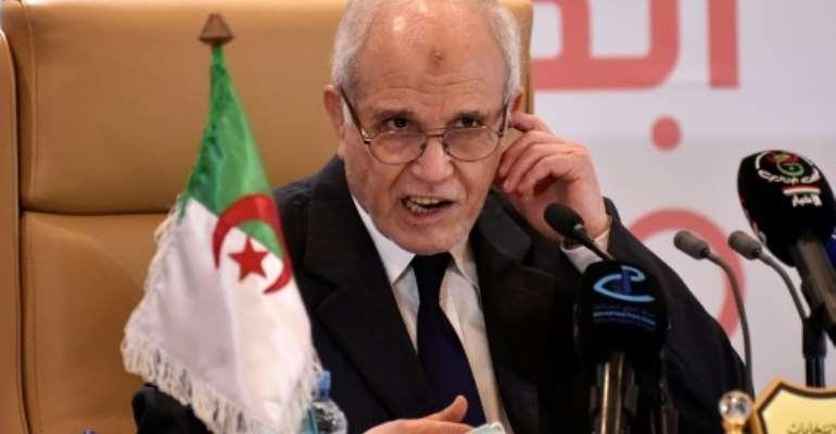 Algeria's electoral board chief Mohamed Chorfi praised a vote held