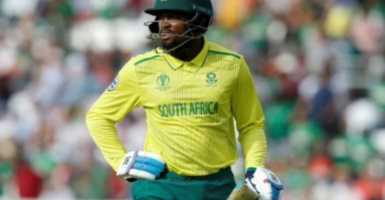 Andile Phehlukwayo is confident South Africa can recover from their dismal start to the World Cup.  By Ian KINGTON (AFP)