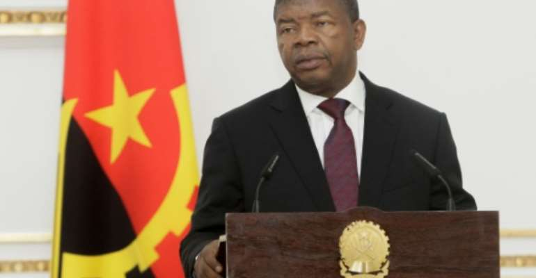Angolan President Joao Lourenco has fought against corruption while also removing figures associated with the regime of his predecessor.  By JOAO DE FATIMA (AFP/File)