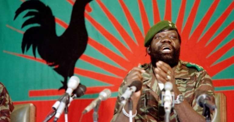 Angolan rebel chief Jonas Savimbi was killed 17 years ago.  By Trevor Samson (AFP/File)