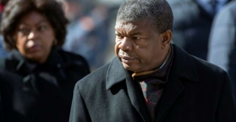 Angola's President Joao Lourenco (pictured April 2019) cancelled a real estate deal, stating in a decree that the contract had been cancelled