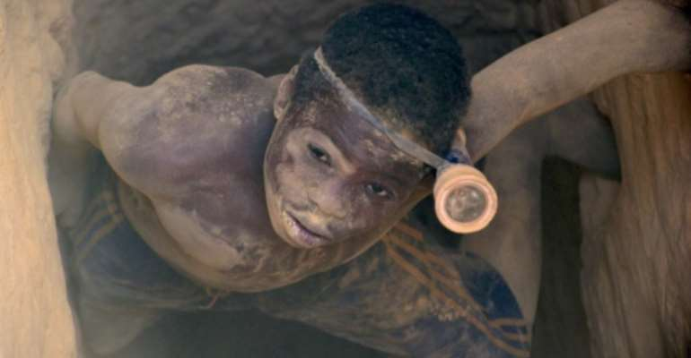 Around 1.5 million people work in unlicensed gold mines in Burkina Faso, according to the mining ministry.  By Ahmed OUOBA (AFP/File)