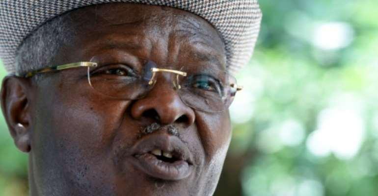 Arrest warrant: Former prime minister Agbeyome Kodjo.  By PIUS UTOMI EKPEI (AFP)
