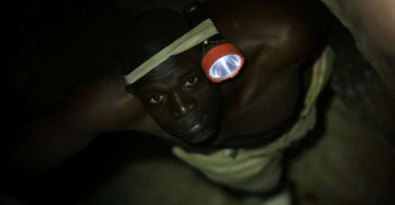 Artisanal gold miners have worked the soil in northwest Nigeria for generations, but armed groups have made their work more risky.  By Kola Sulaimon (AFP)