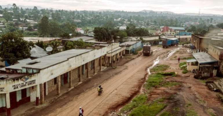 At a prison in Bunia, the capital of northeastern Ituri province, 17 inmates have died since April.  By EDUARDO SOTERAS (AFP/File)