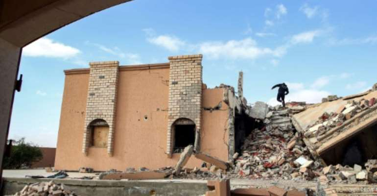 At the end of the 2011 NATO-backed uprising that ousted and killed Libyan dictator Moamer Kadhafi, the town of Tawergha endured brutal reprisal attacks by fighters who accused the population of having backed the strongman.  By Mahmud TURKIA (AFP)