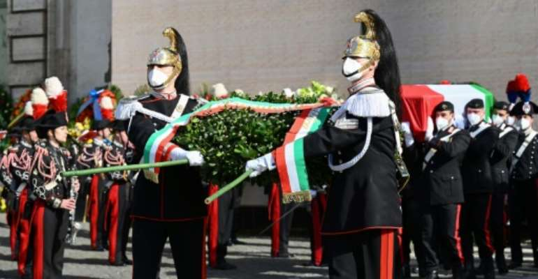 Attanasio was the first Italian ambassador to be killed in the line of duty.  By Vincenzo PINTO (AFP)