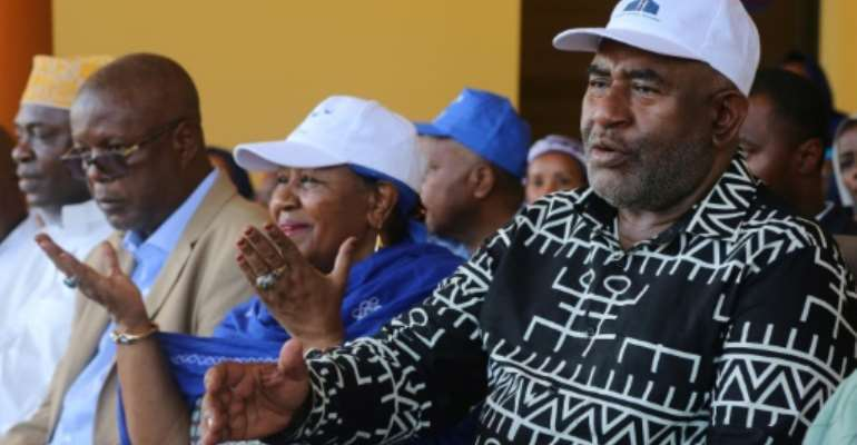 Azali previously led a coup, ruled the Comoros between 1999 and 2006, and was re-elected in 2016.  By Youssouf IBRAHIM (AFP/File)
