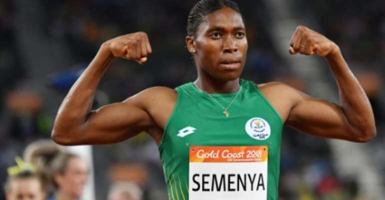 Barring Caster Semenya from competition because of testosterone levels would be 'arbitrary', said an editorial in the BMJ, a respected medical journal.  By SAEED KHAN (AFP/File)