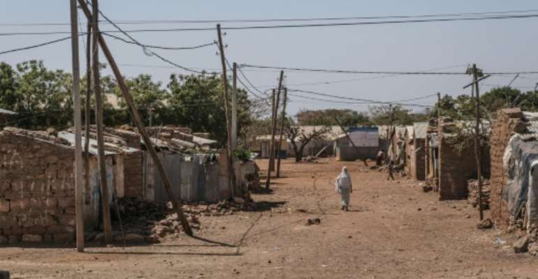 Before fighting broke out Tigray was home to 92,000 Eritrean refugees.  By EDUARDO SOTERAS (AFP/File)