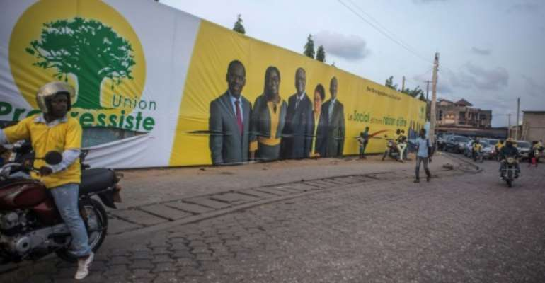 Benin goes to the polls to elect its new parliament on Sunday, but no opposition parties are being allowed to field candidates.  By Yanick Folly (AFP/File)