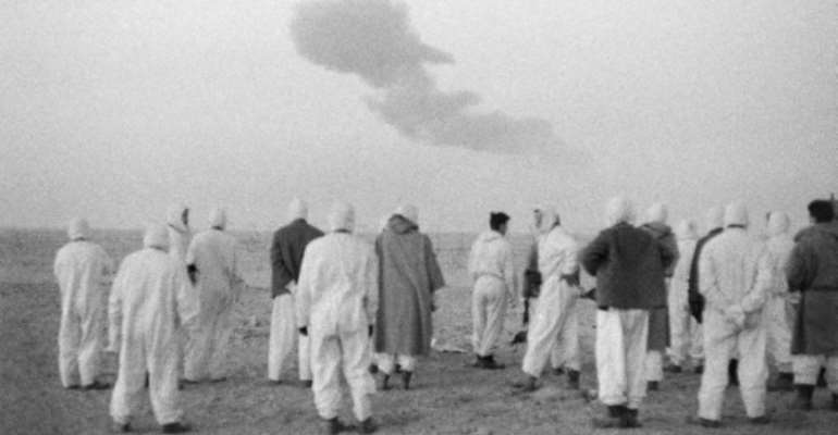 Between 1960 and 1966, France conducted 17 atmospheric or underground nuclear tests deep in the Sahara desert of Algeria.  By - (AFP/File)