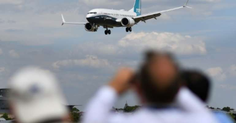 Boeing 737 Max planes are being suspended from airspace in countries including Britain, France, Germany, Ireland and The Netherlands.  By BEN STANSALL (AFP/File)