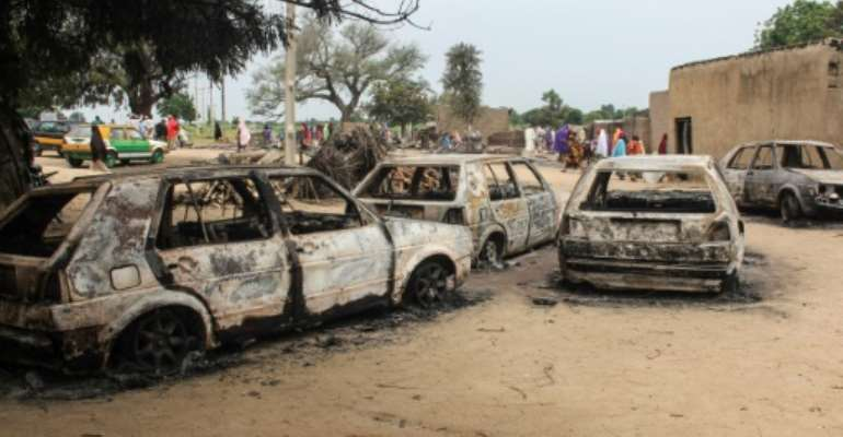 Boko Haram has stepped up attacks despite government claims that the group is near defeat.  By AUDU MARTE (AFP/File)